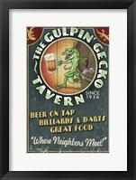 Framed Gulpin' Gecko