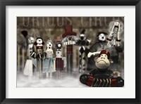 Framed Circus Family