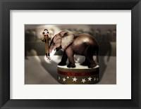 Framed Elephant Dancer