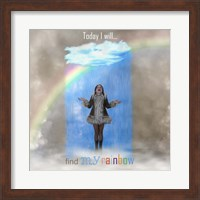Framed Find My Rainbow