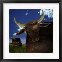 Framed Year of the Ox