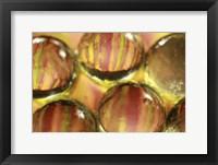 Framed Stripey Bubbles