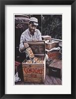 Framed Gordons Gin Humphrey Bogart
