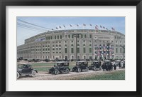 Framed Yankee Stadium