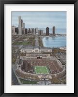 Framed Chicago's Soldier Field