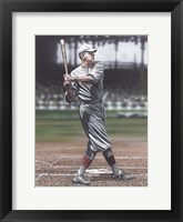 Framed Babe Ruth as a Red Sox