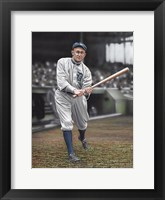 Framed Ty Cobb Batters On Deck