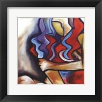 Framed Sly Fox