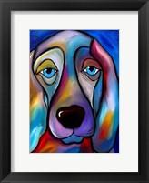 Framed Regal Beagle