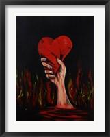 Framed Broken Heart