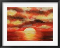 Framed Sunny Ocean