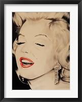 Breath taking Marilyn Framed Print