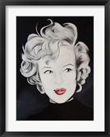 Framed Kissy Face Marilyn