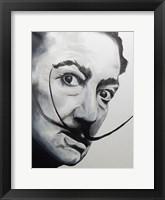 Framed Salvador Dali