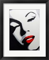 Framed Pop Art Marilyn
