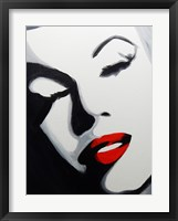 Framed Pop Art Marilyn