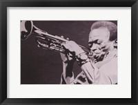 Framed Miles Davis
