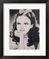 Framed Dorothy Judy Garland