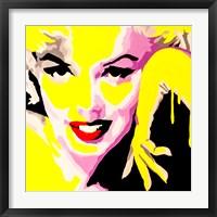 Framed Temptress Marilyn Monroe