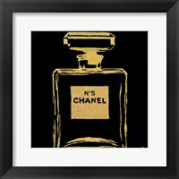 Framed Chanel Black Urban Chic