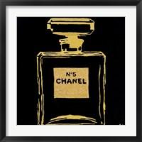 Chanel Black Urban Chic Framed Print
