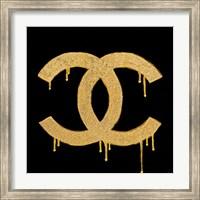 Framed Chanel Gold Lust