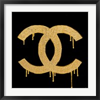 Framed Chanel Gold Lust
