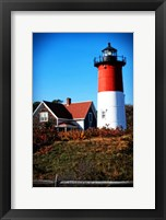 Nauset Light House Framed Print