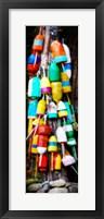 Framed Colorful Buoys