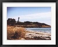 Framed Nobska Lighthouse Landscape