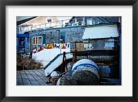 Framed Docks Reday for the Season