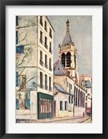 Framed Church-St. Severin
