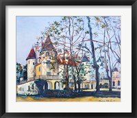 Framed Le Chateau