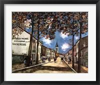 Framed St. Romaine Quarter