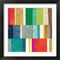 Framed Colorful Abstract