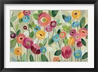 Framed Fairy Tale Flowers V