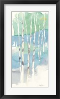 Framed Aspens Panel II