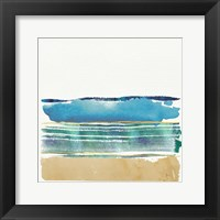 By the Sea I Framed Print