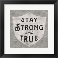 Stay Strong Framed Print