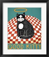 Good Kitty Framed Print
