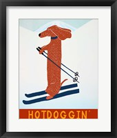 Framed Hotdoggin Red