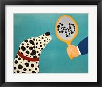 Framed Mirror Image Of Dog