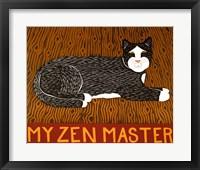 Framed My Zen Master