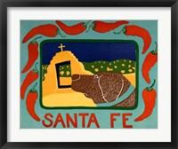Framed Santa Fe Choc