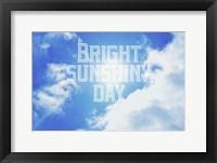 Framed Bright Sunshiney Day