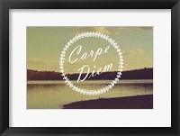 Framed Carpe Diem