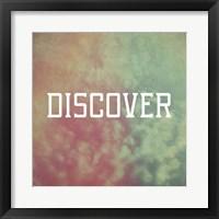 Discover Framed Print