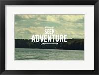 Framed Seek Adventure