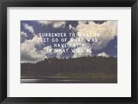 Framed Surrender
