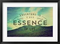 Framed Essence Of Life